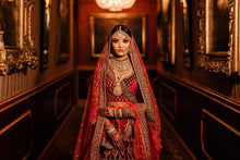 Load image into Gallery viewer, Real Bride Ayesha in Sabyasachi @The Grand Trunk - The Grand Trunk