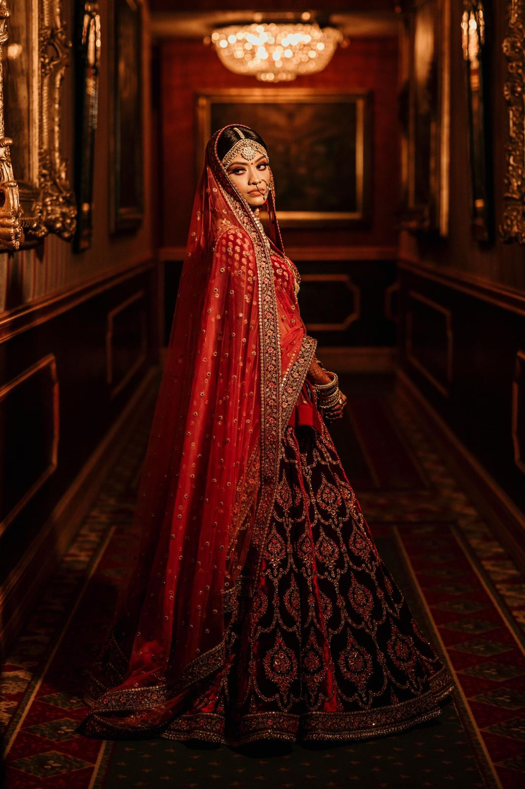 Real Bride Ayesha in Sabyasachi @The Grand Trunk - The Grand Trunk