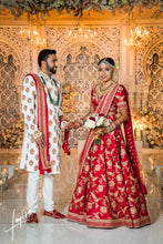 Load image into Gallery viewer, Real Bride Aanal in Sabyasachi @The Grand Trunk - The Grand Trunk