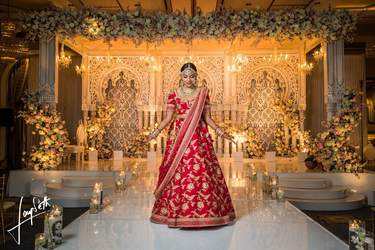 Real Bride Aanal in Sabyasachi @The Grand Trunk - The Grand Trunk