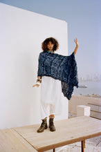 Load image into Gallery viewer, Shibori off-shoulder+ draped pants - The Grand Trunk