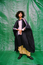 Load image into Gallery viewer, Shibori shirt cape+ printed skirt - The Grand Trunk