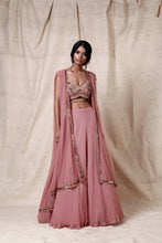 Load image into Gallery viewer, Onion pink  Crop top set - The Grand Trunk