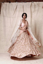 Load image into Gallery viewer, Baby pink lengha  set - The Grand Trunk
