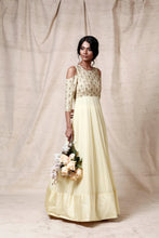Load image into Gallery viewer, Light yellow anarkali - The Grand Trunk