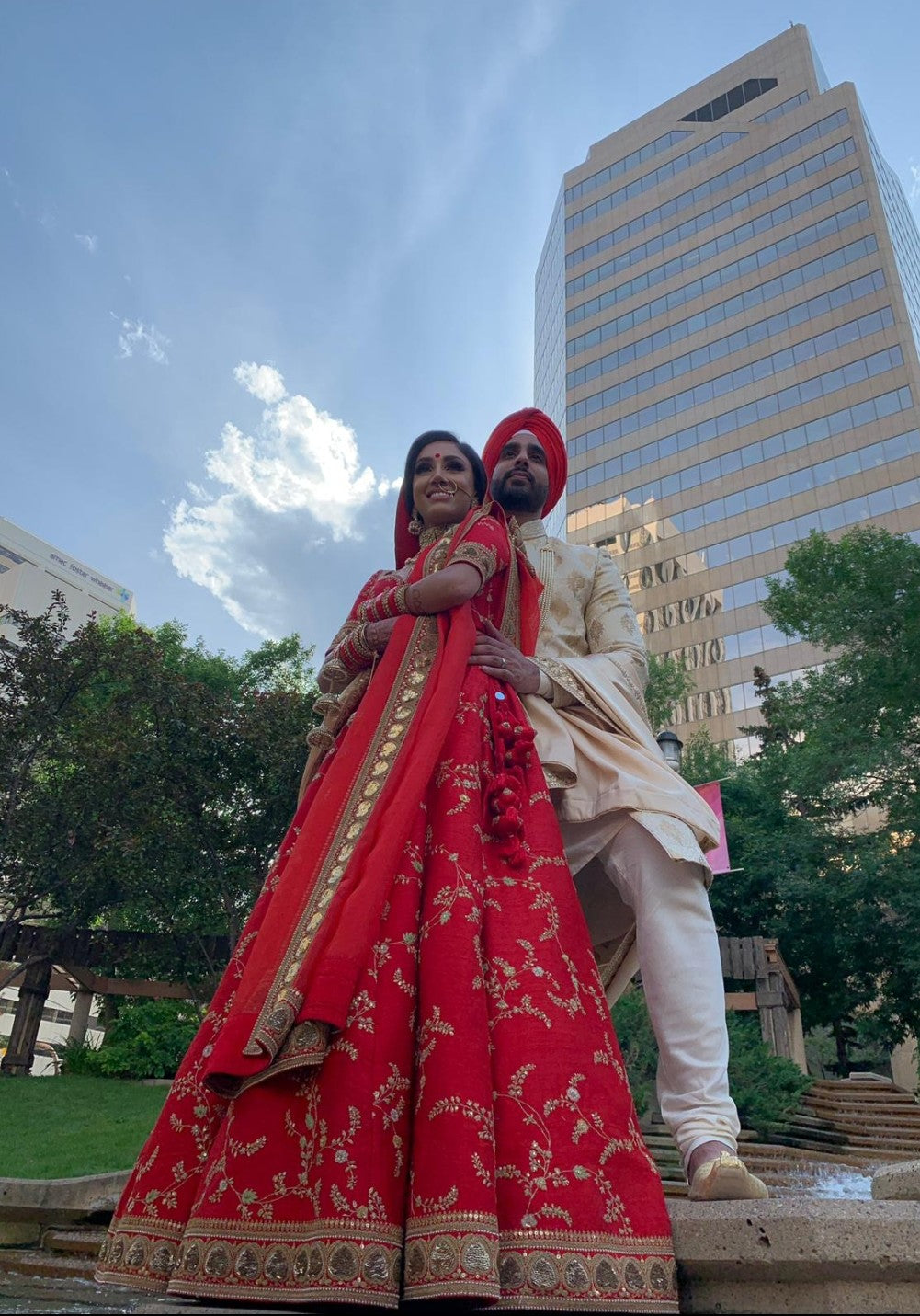 Real Bride Hardeep in Sabyasachi @The Grand Trunk - The Grand Trunk