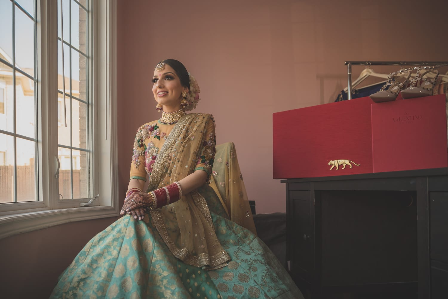 Real Bride Jas in Sabyasachi @ The Grand Trunk - The Grand Trunk