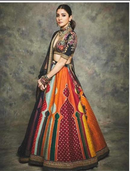 Sabyasachi Anushka Lehenga - The Grand Trunk