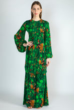 Load image into Gallery viewer, EMERALD JUNGLE PRINT TUNIC & PANTS - The Grand Trunk