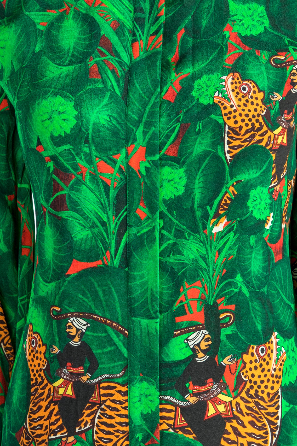 EMERALD JUNGLE PRINT TUNIC & PANTS - The Grand Trunk