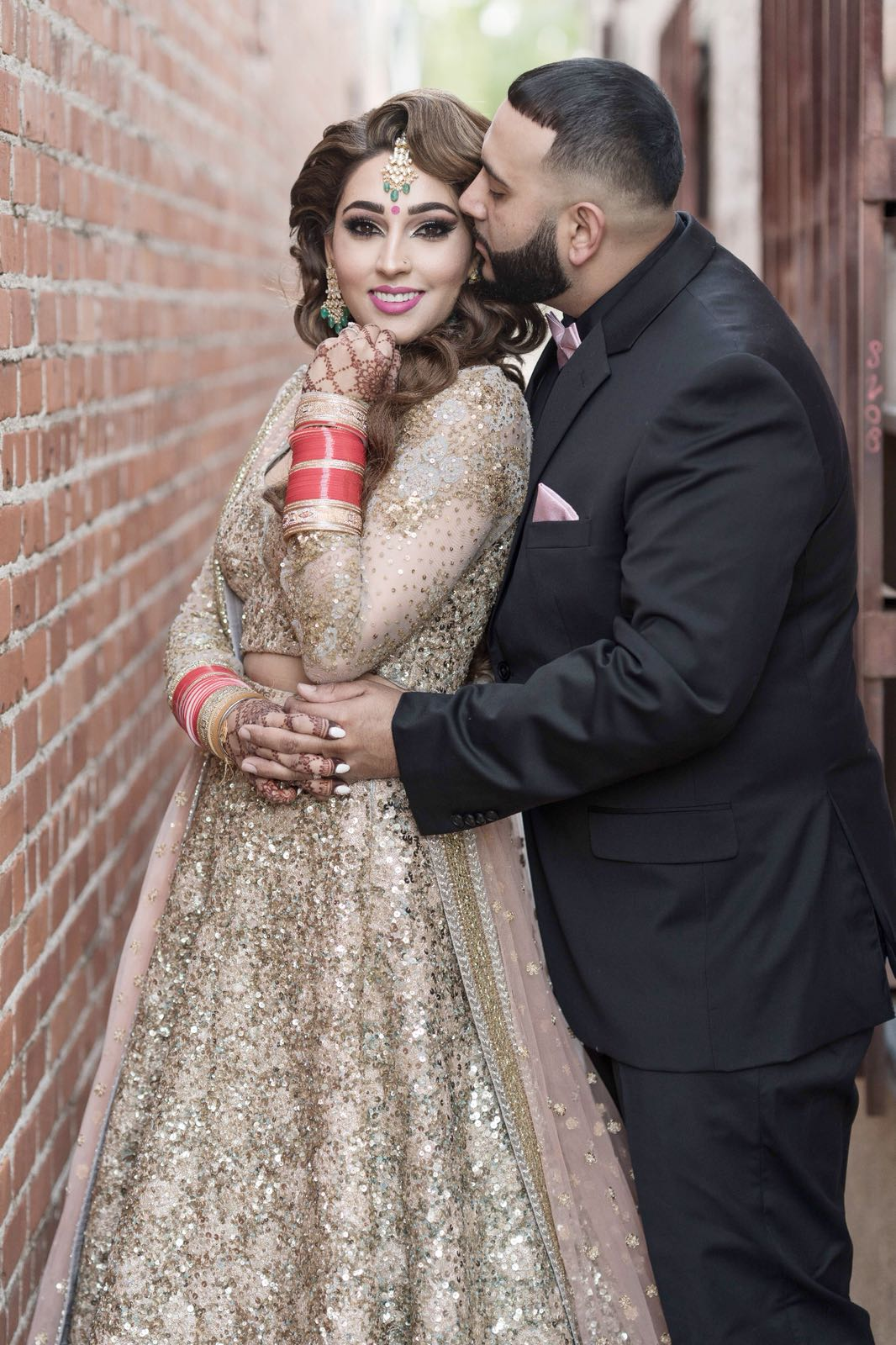 Real Bride Navneet Brar in Sabyasachi Lehenga @The Grand Trunk - The Grand Trunk