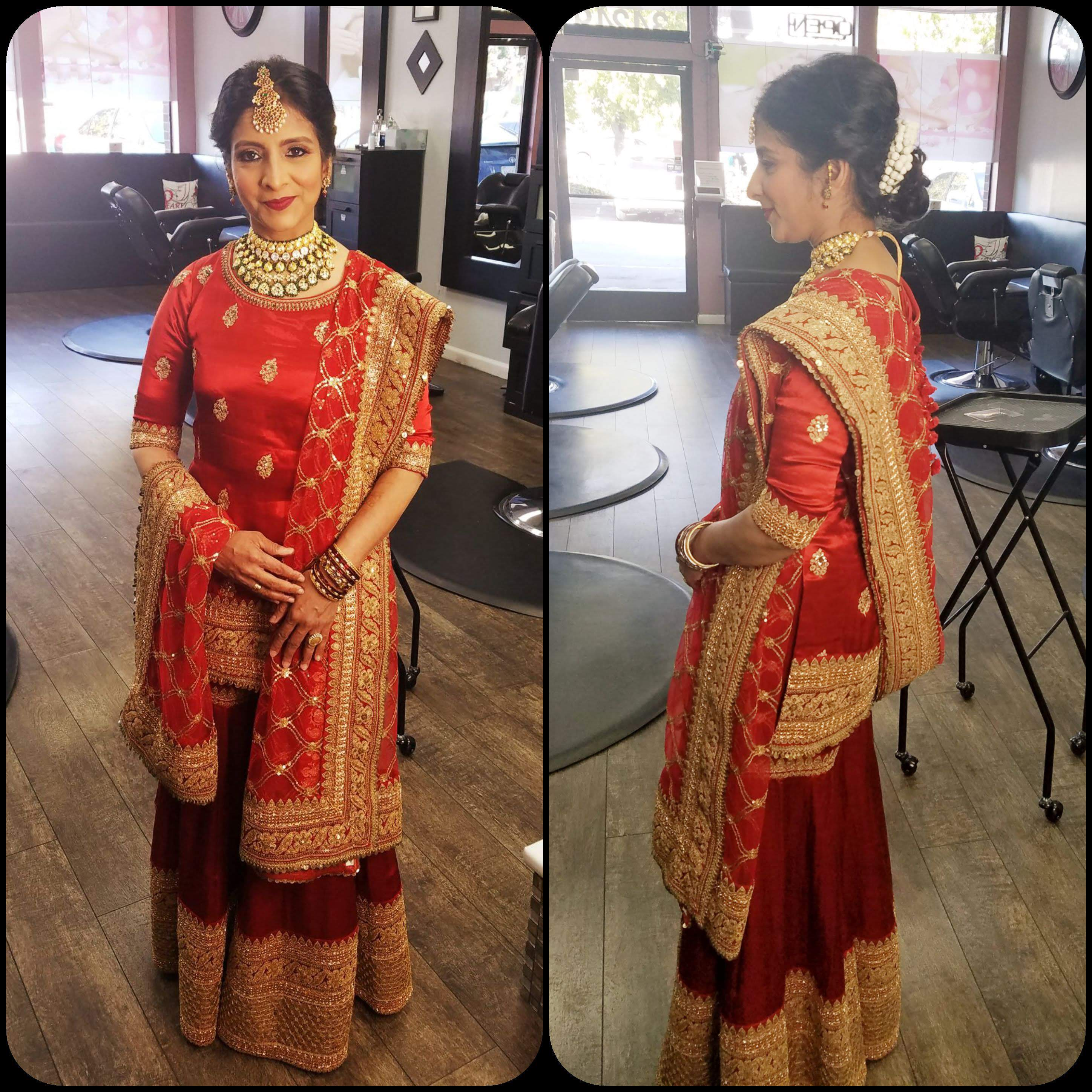 Nikhat 25th Wedding Anniversary in Sabyasachi outfit @ The Grand Trunk - The Grand Trunk