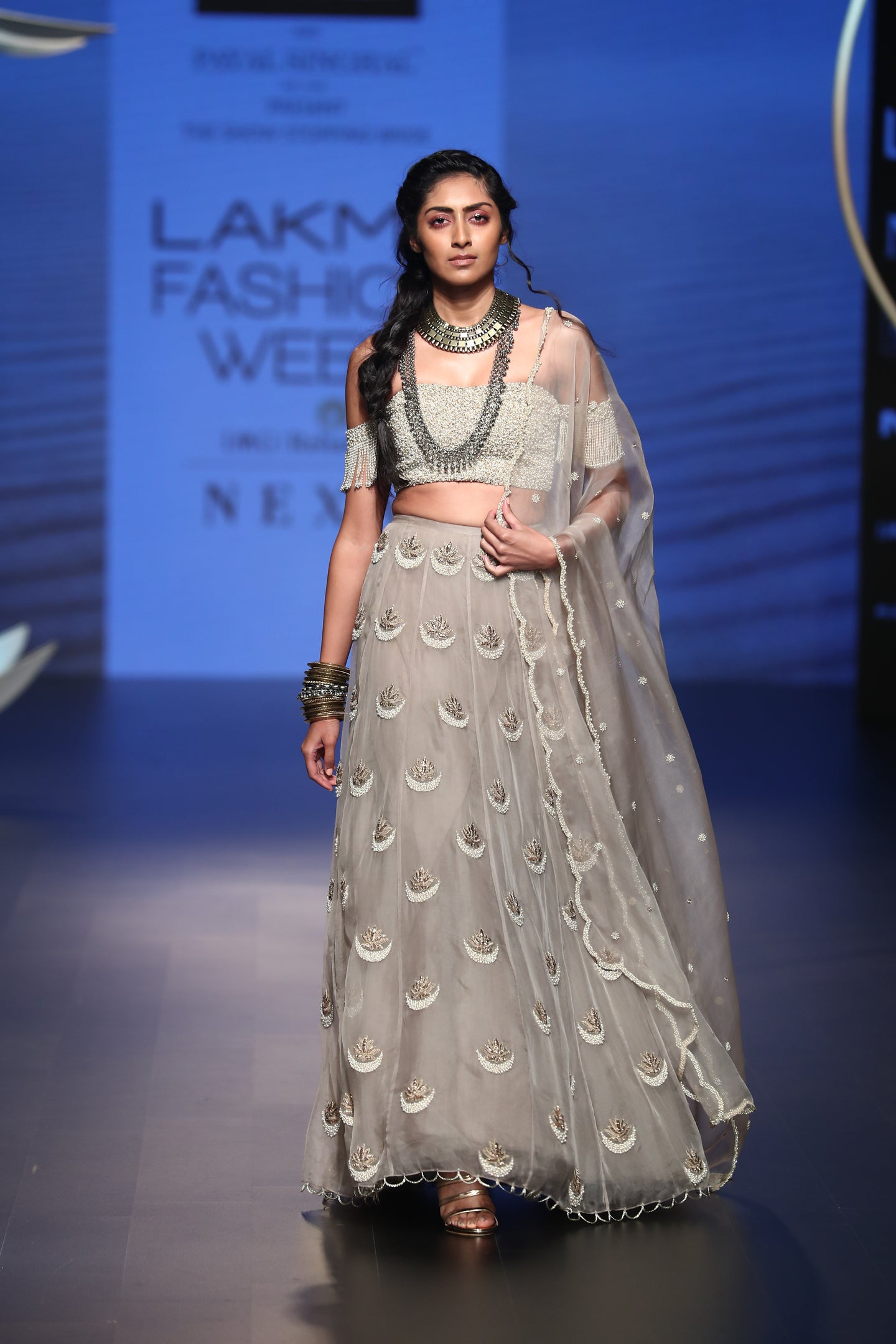 Payal Singhal Aynur Lehenga Set - The Grand Trunk