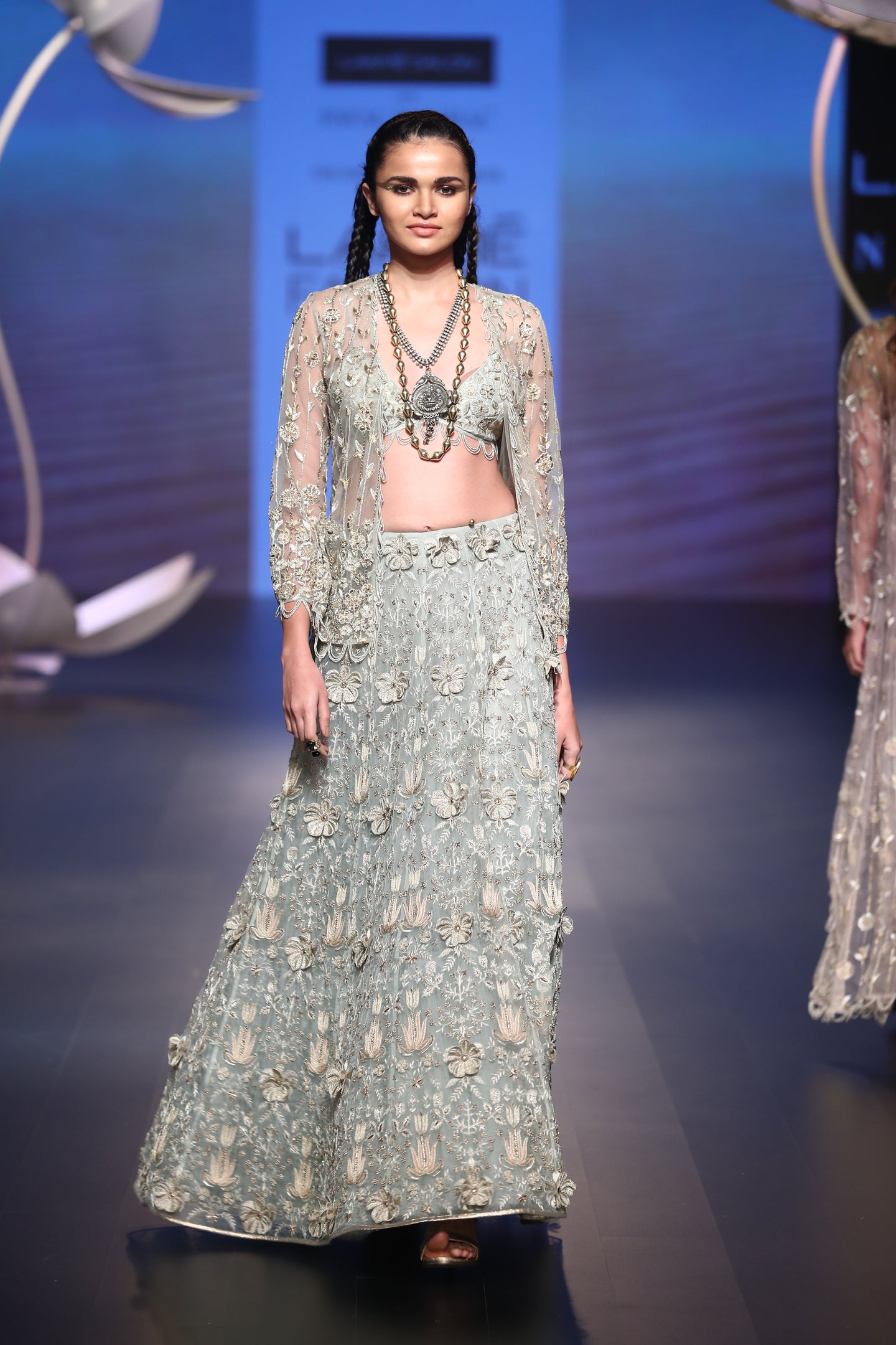 Payal Singhal Gulriz Skirt Set - The Grand Trunk