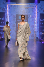 Load image into Gallery viewer, Payal Singhal Feruza Saree - The Grand Trunk