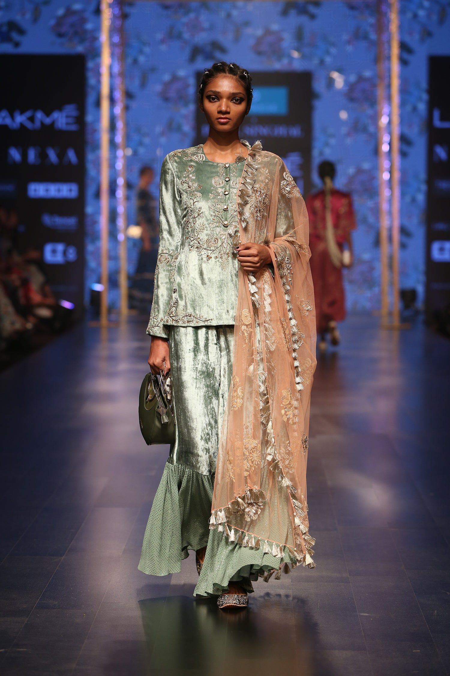 Payal Singhal Nasrin Palazzo Set - The Grand Trunk