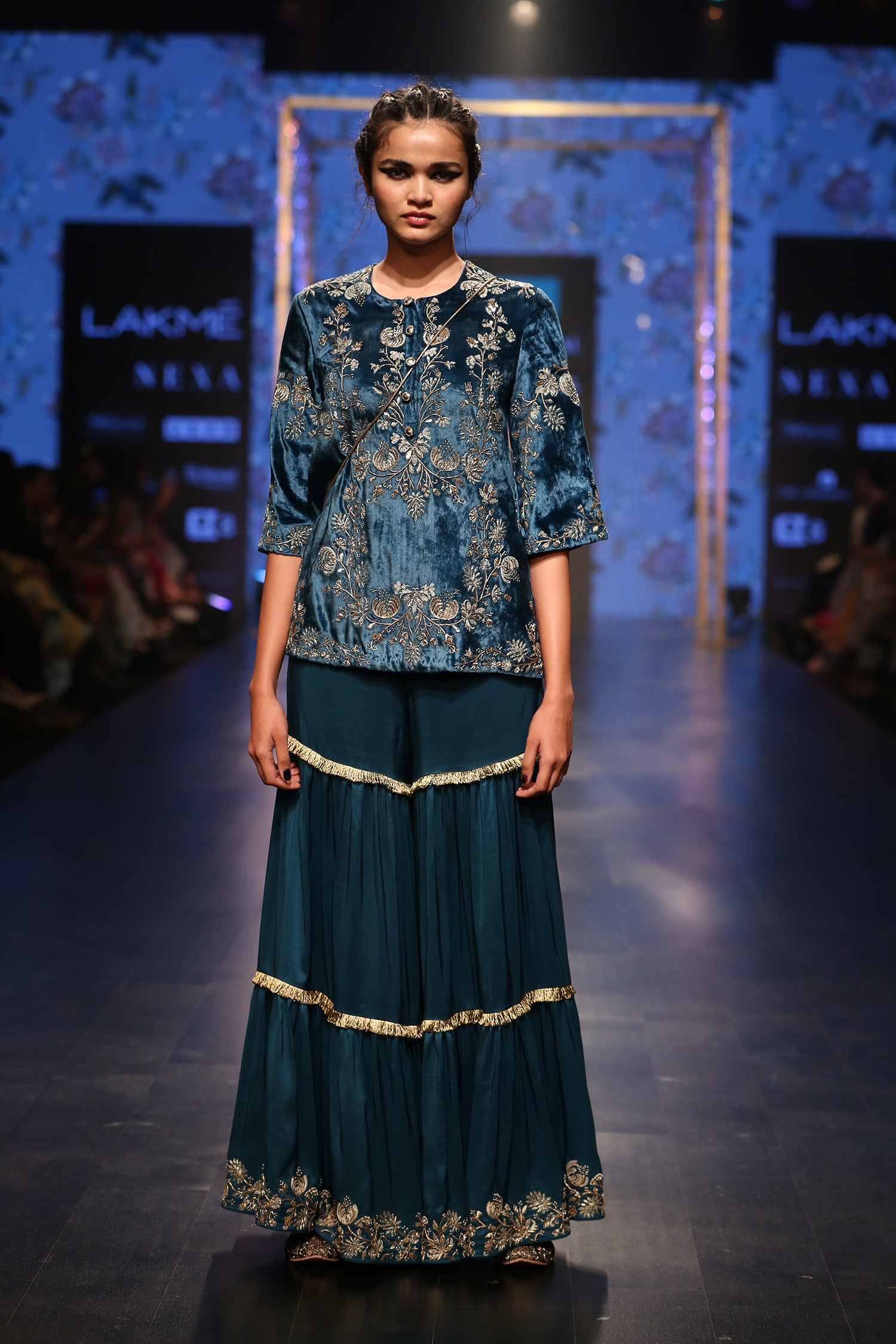 Payal Singhal Ona Sharara Set - The Grand Trunk