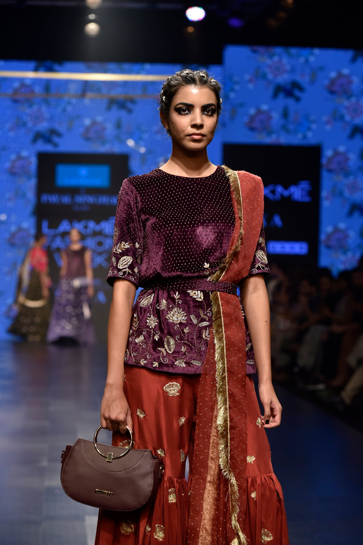 Payal Singhal Saffiya Sharara Set - The Grand Trunk