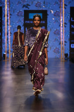 Load image into Gallery viewer, Payal Singhal Tahmina Saree - The Grand Trunk