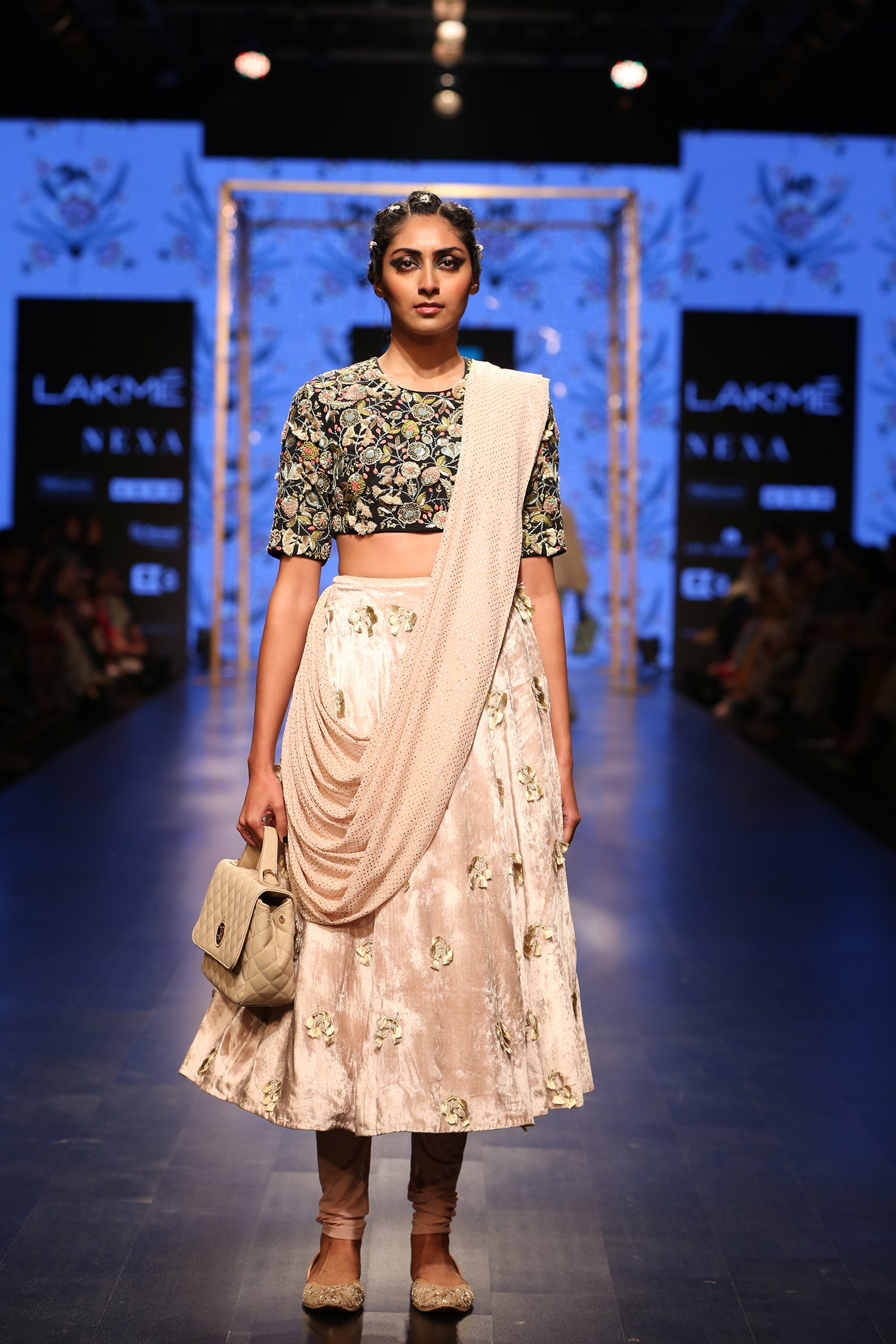 Payal Singhal Gulzar Churidar Skirt Set - The Grand Trunk