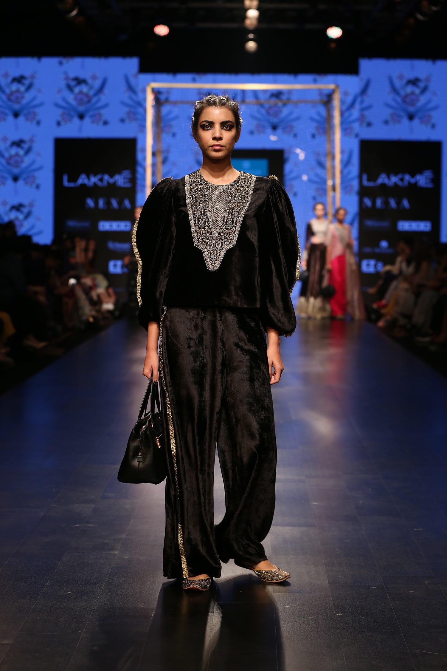 Payal Singhal Amaliya Palazzo Set - The Grand Trunk