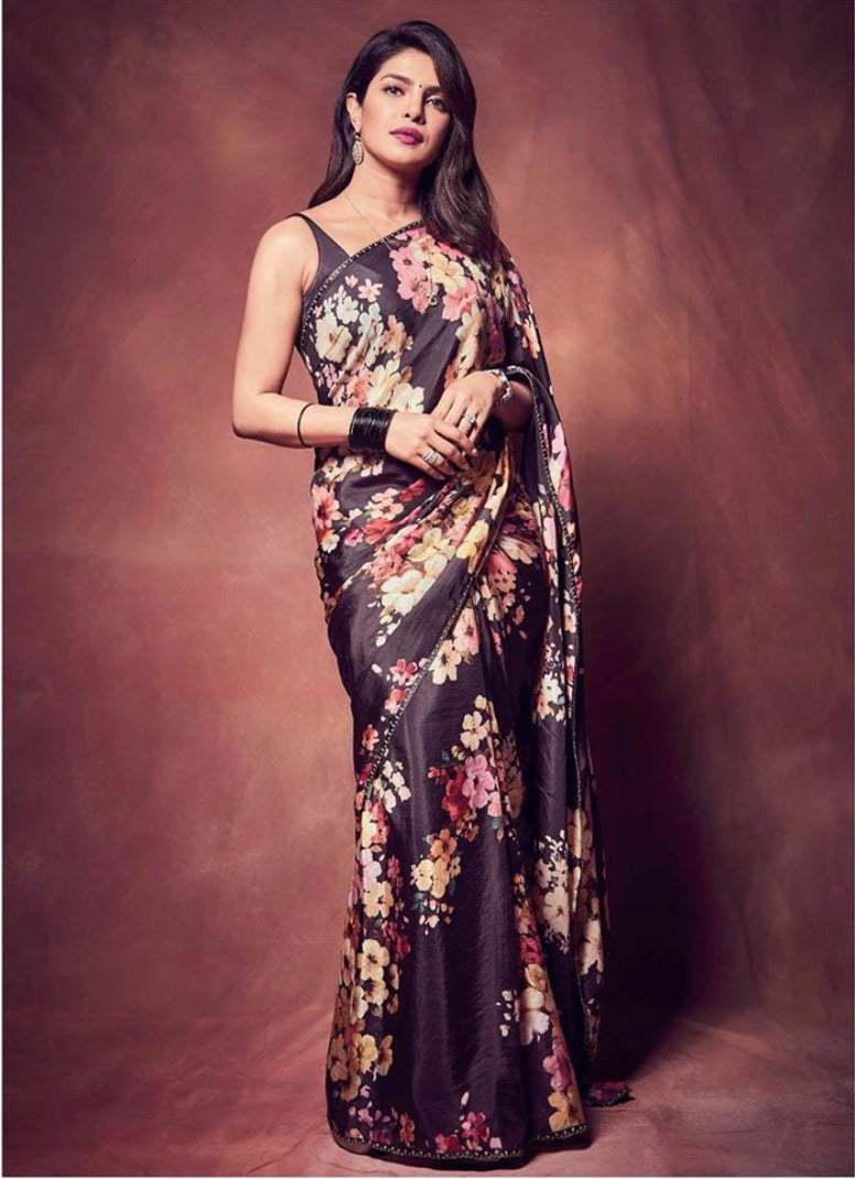 Sabyasachi Priyanka Jones Chopra sari - The Grand Trunk