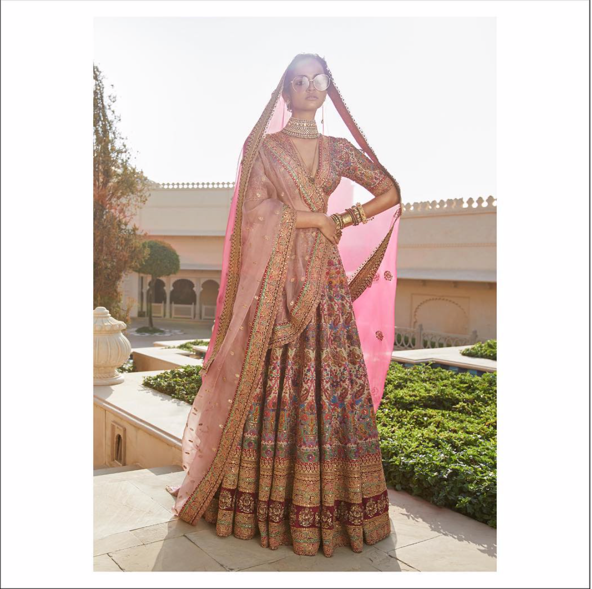 Sabyasachi Roohbab Lehenga - The Grand Trunk
