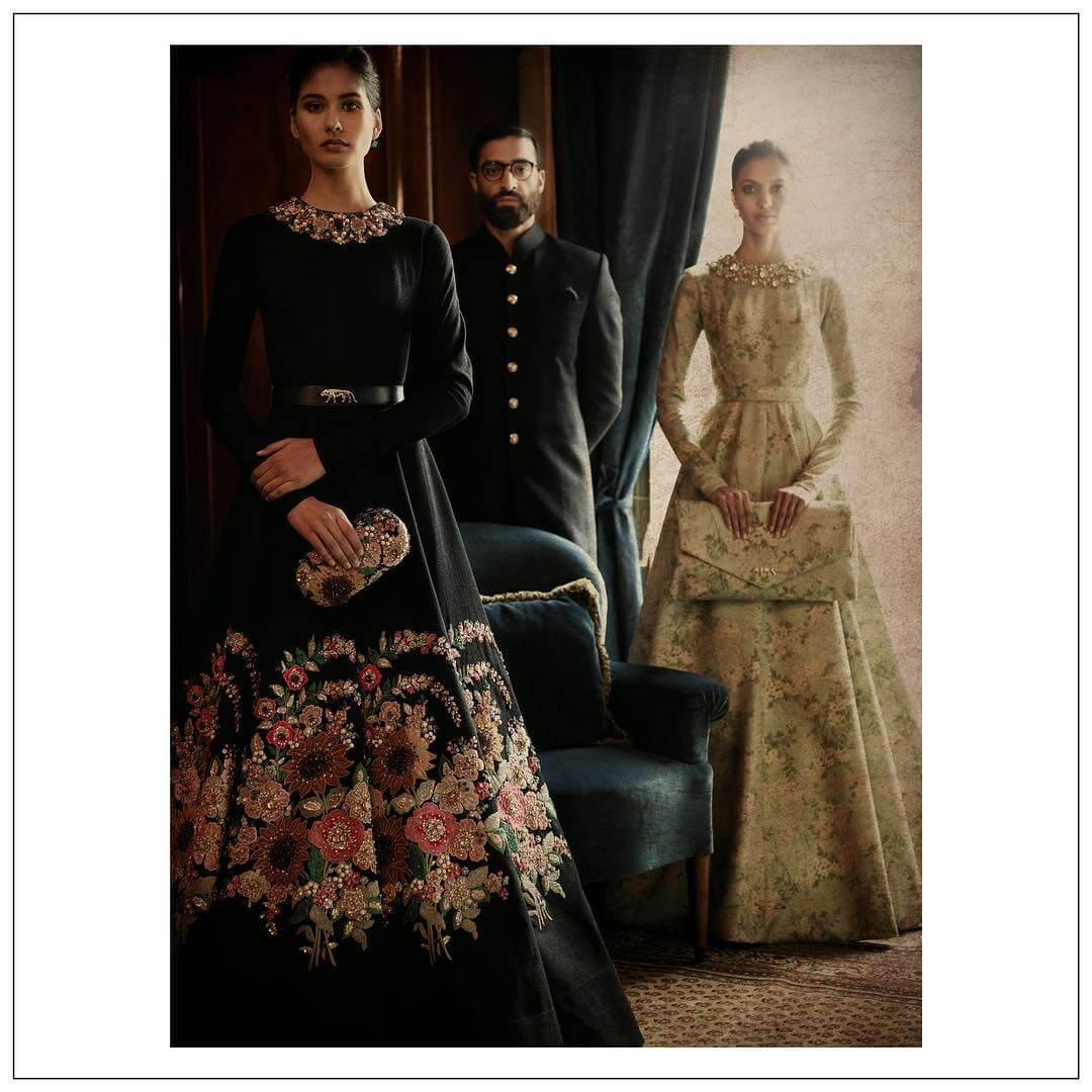 Sabyasachi Bridal Gown - The Grand Trunk