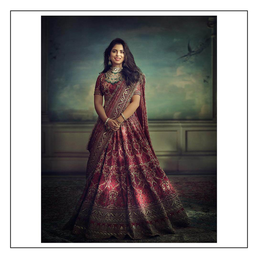 Sabyasachi Handprinted Lehenga - The Grand Trunk