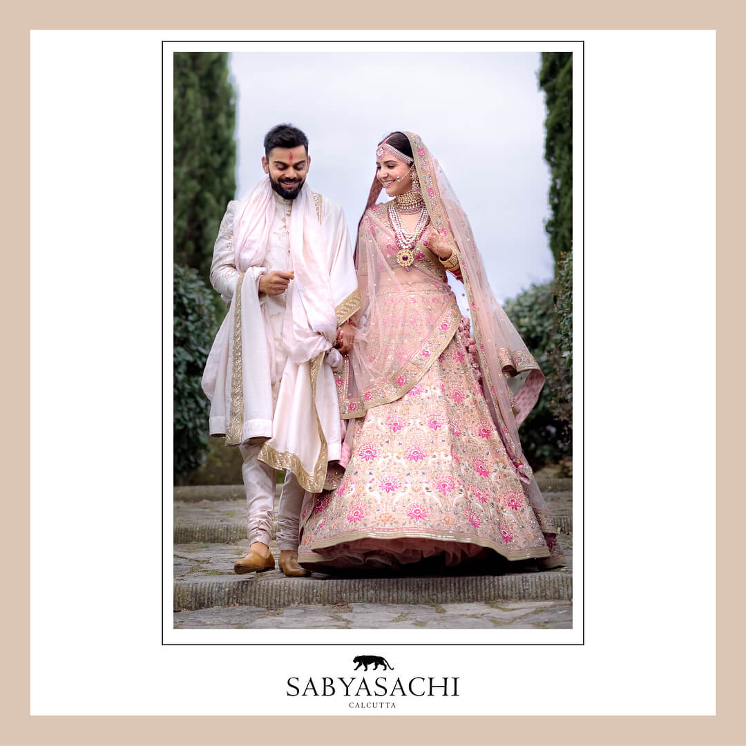Sabyasachi Anushka Bridal Lehenga - The Grand Trunk