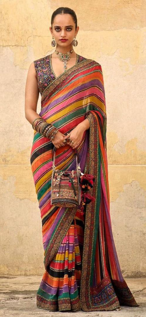Sabyasachi Ggt sari - The Grand Trunk