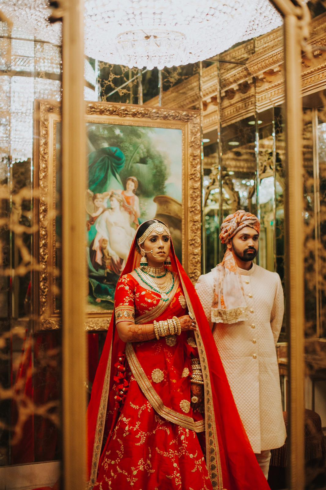 Real Bride Sanjida and Groom Sayeed in Sabyasachi @ The Grand Trunk - The Grand Trunk