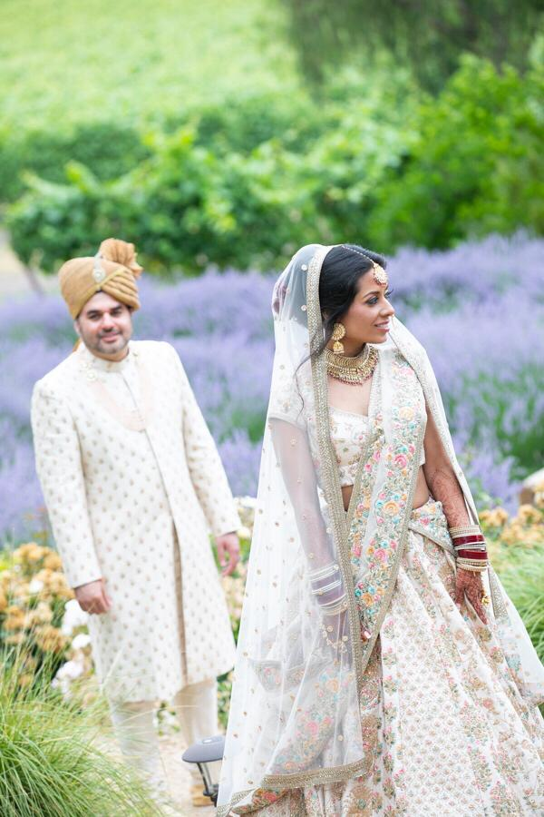 Real Bride Sapna and Groom Sachin in Sabyasachi @ The Grand Trunk - The Grand Trunk