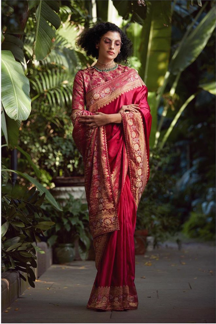 Sabyasachi Vintage Benarsi sari - The Grand Trunk