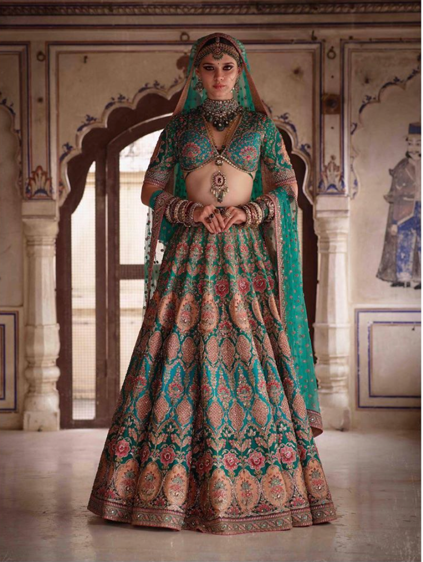 Charbagh featuring the Sabyasachi Nargis collection. - The Grand Trunk