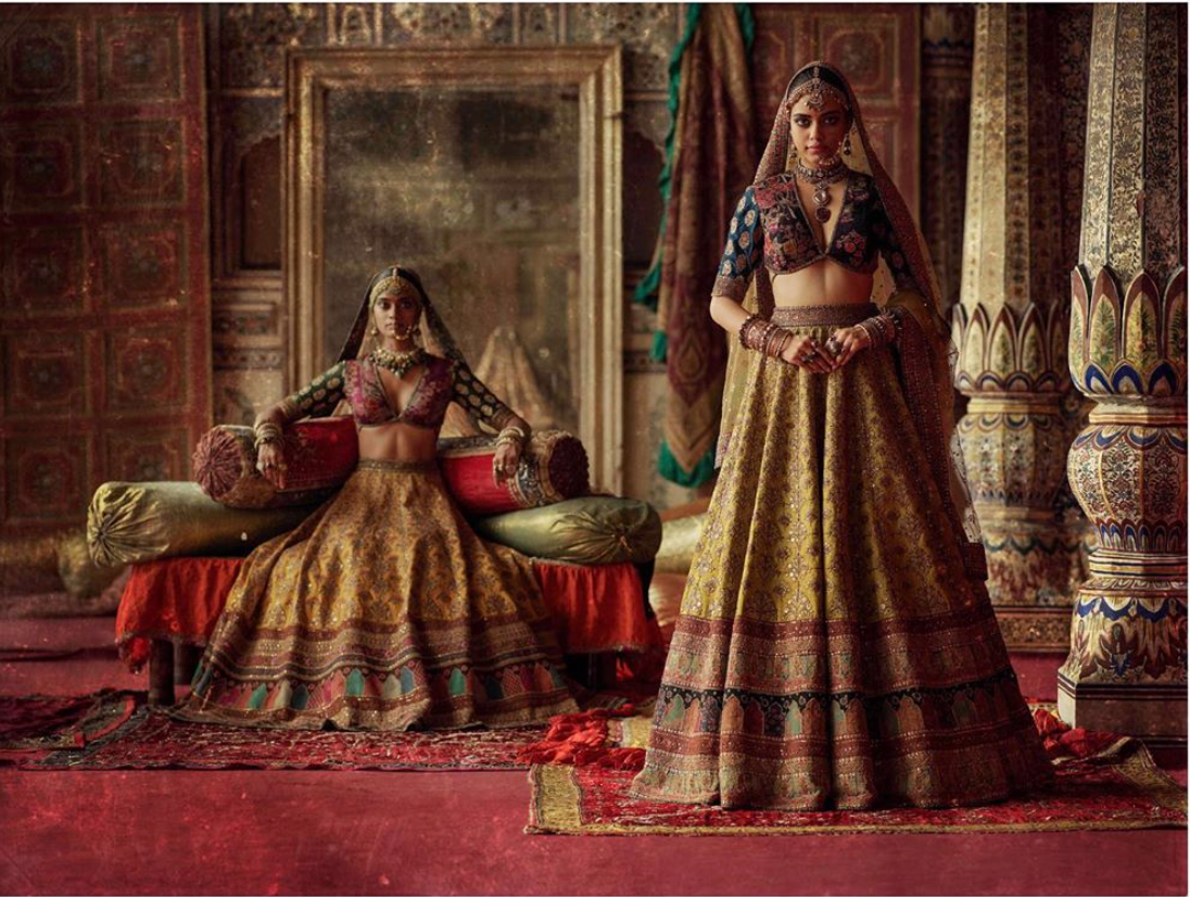 Charbagh featuring the Sabyasachi Chowk collection. - The Grand Trunk