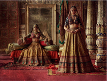 Load image into Gallery viewer, Charbagh featuring the Sabyasachi Chowk collection. - The Grand Trunk