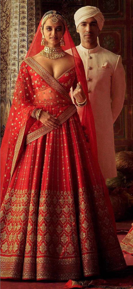 Charbagh featuring the Sabyasachi Devi collection. - The Grand Trunk