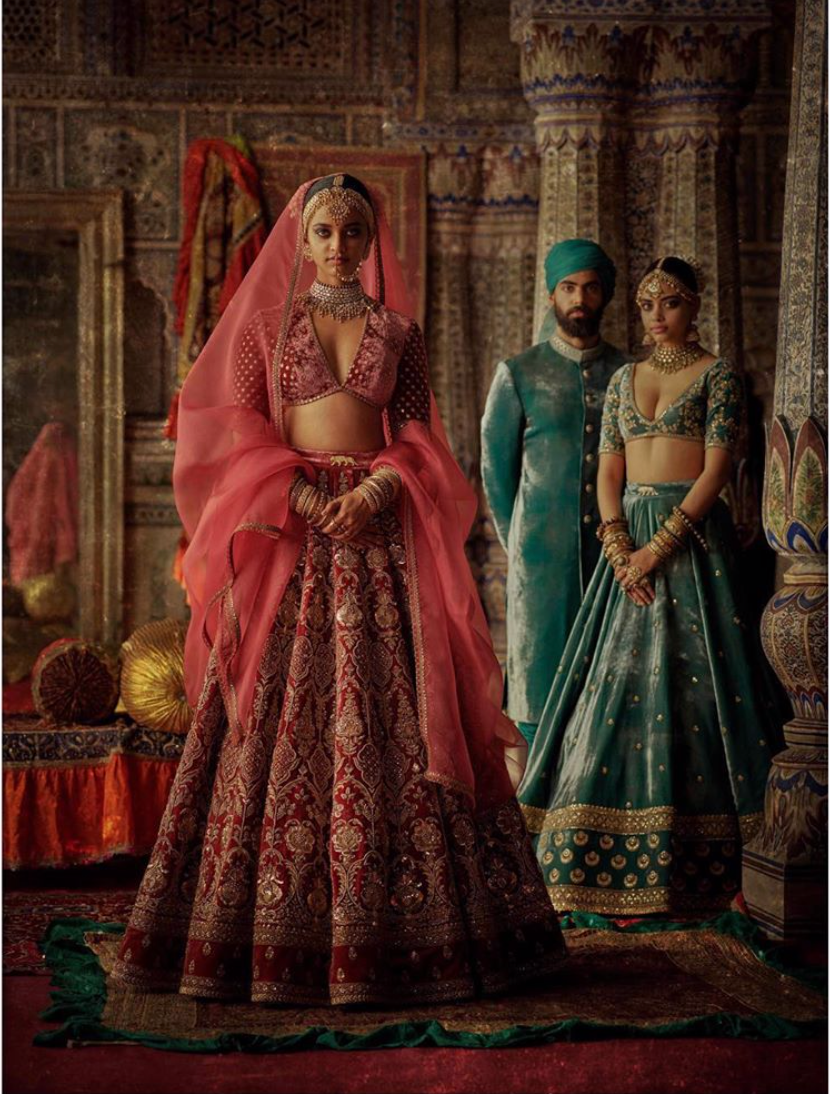 Charbagh featuring the Sabyasachi Isfahan collection. - The Grand Trunk