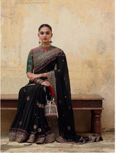 Load image into Gallery viewer, The new collection Winter 2019 Sabyasachi sari - The Grand Trunk
