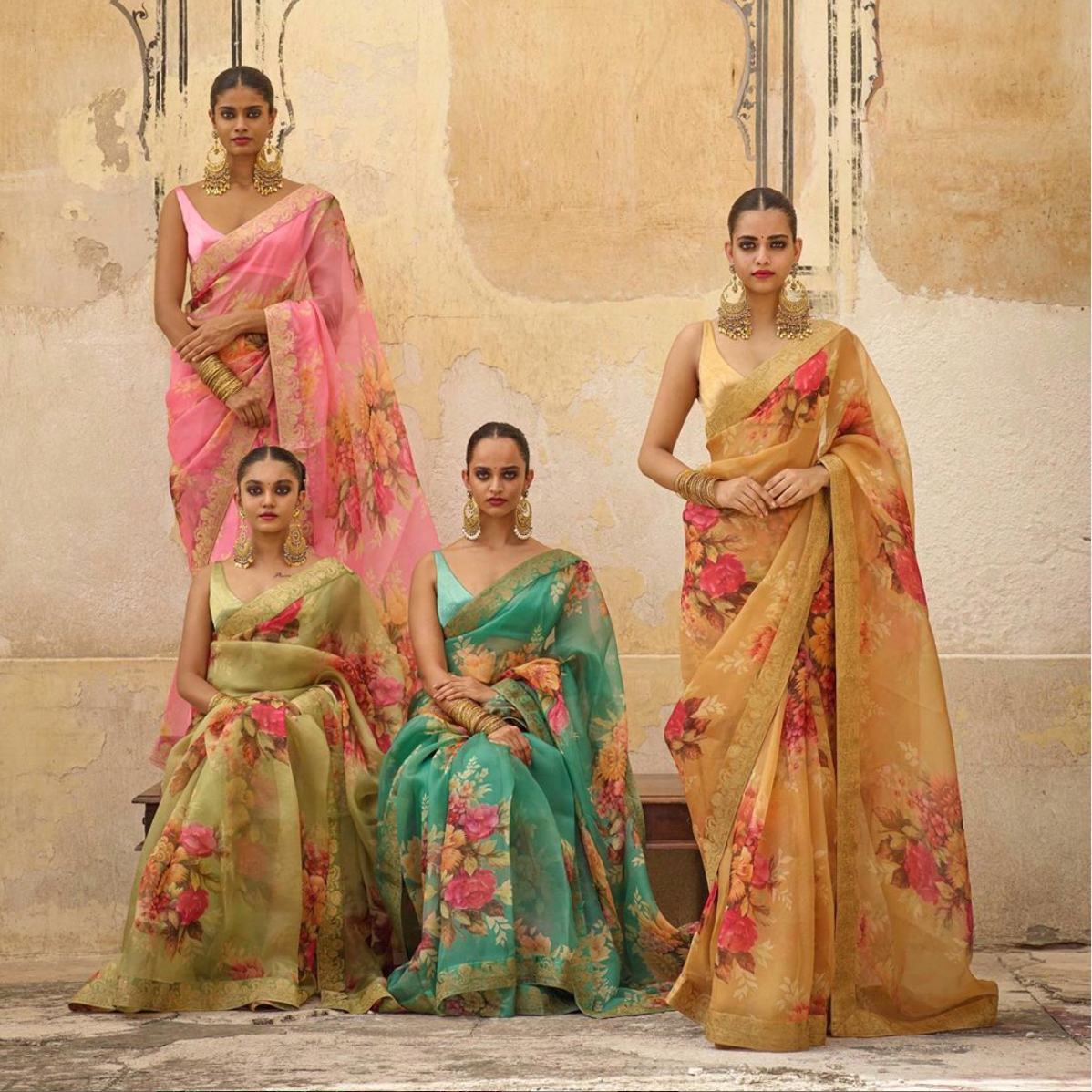 The new collection Winter 2019 Sabyasachi sari - The Grand Trunk