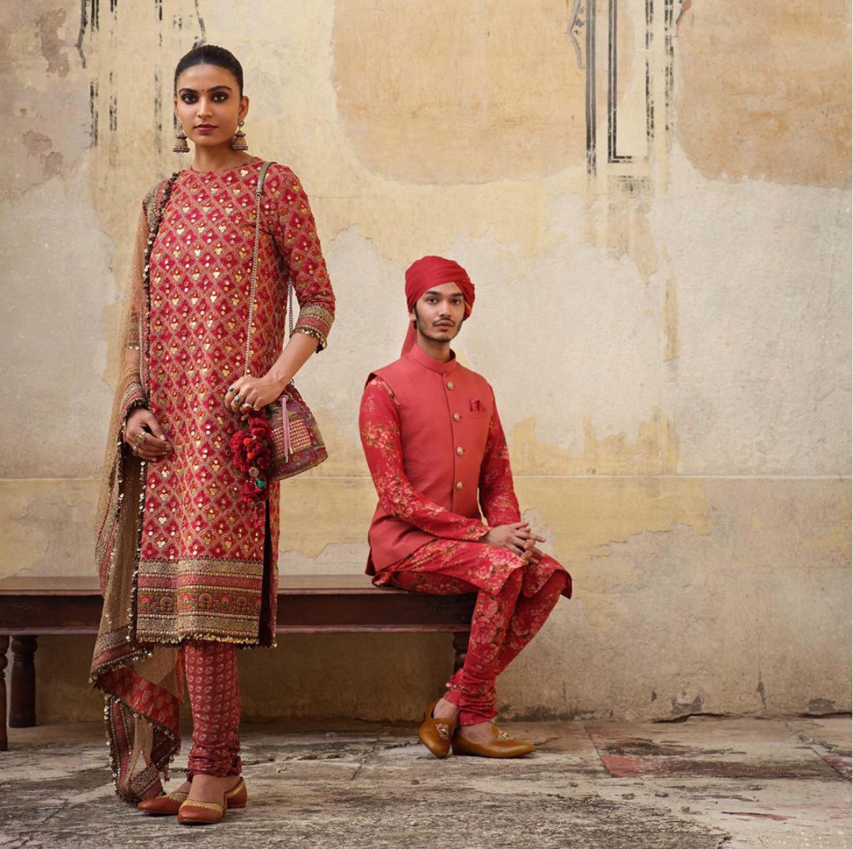 The new collection Winter 2019 Sabyasachi suit - The Grand Trunk