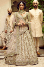 Load image into Gallery viewer, Sabyasachi Ivory Lehenga - The Grand Trunk