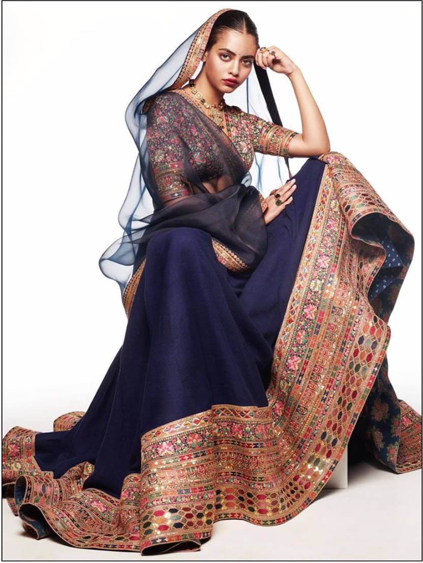 Sabyasachi Summer 2020 Indigo Modern Collection - The Grand Trunk
