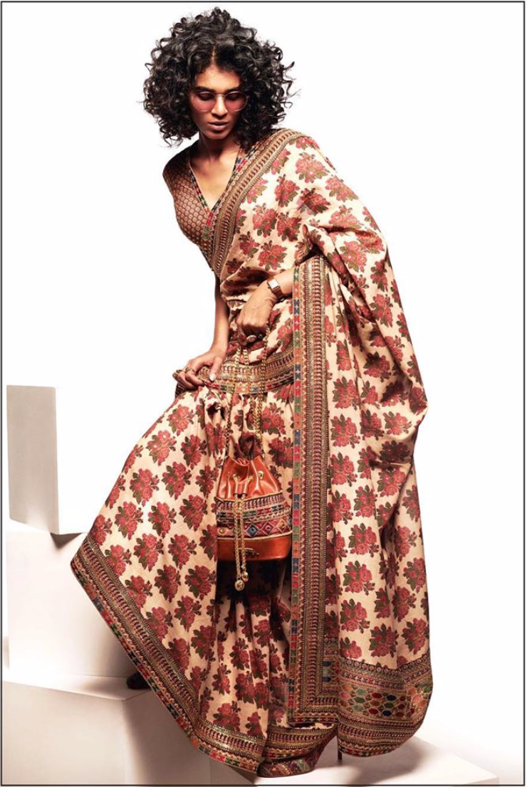Sabyasachi Summer 2020 The Neo-Bohemian Khadi sari - The Grand Trunk