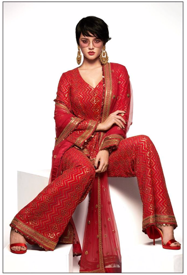 Sabyasachi Summer 2020 The Retro Pantsuit Kurta - The Grand Trunk