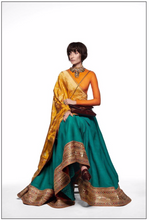 Load image into Gallery viewer, Sabyasachi Summer 2020 The Modern Heritage Wedding Lehenga - The Grand Trunk