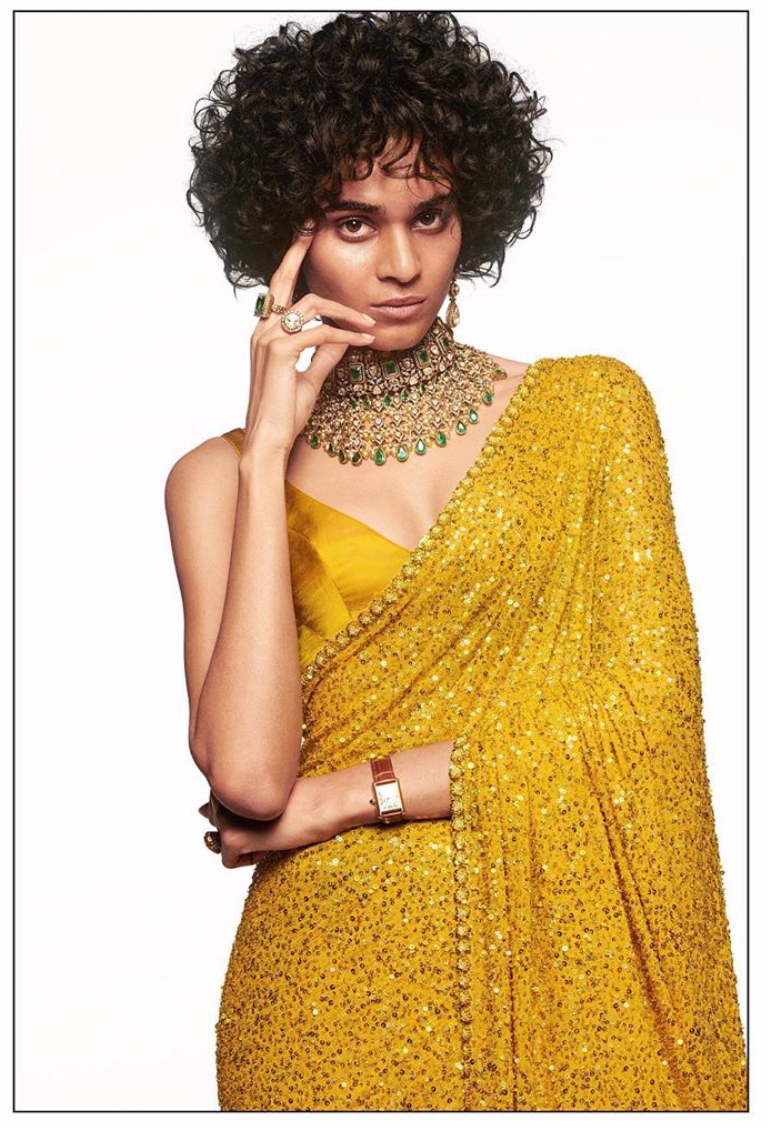 Sabyasachi Summer 2020 Modern Reception sari - The Grand Trunk