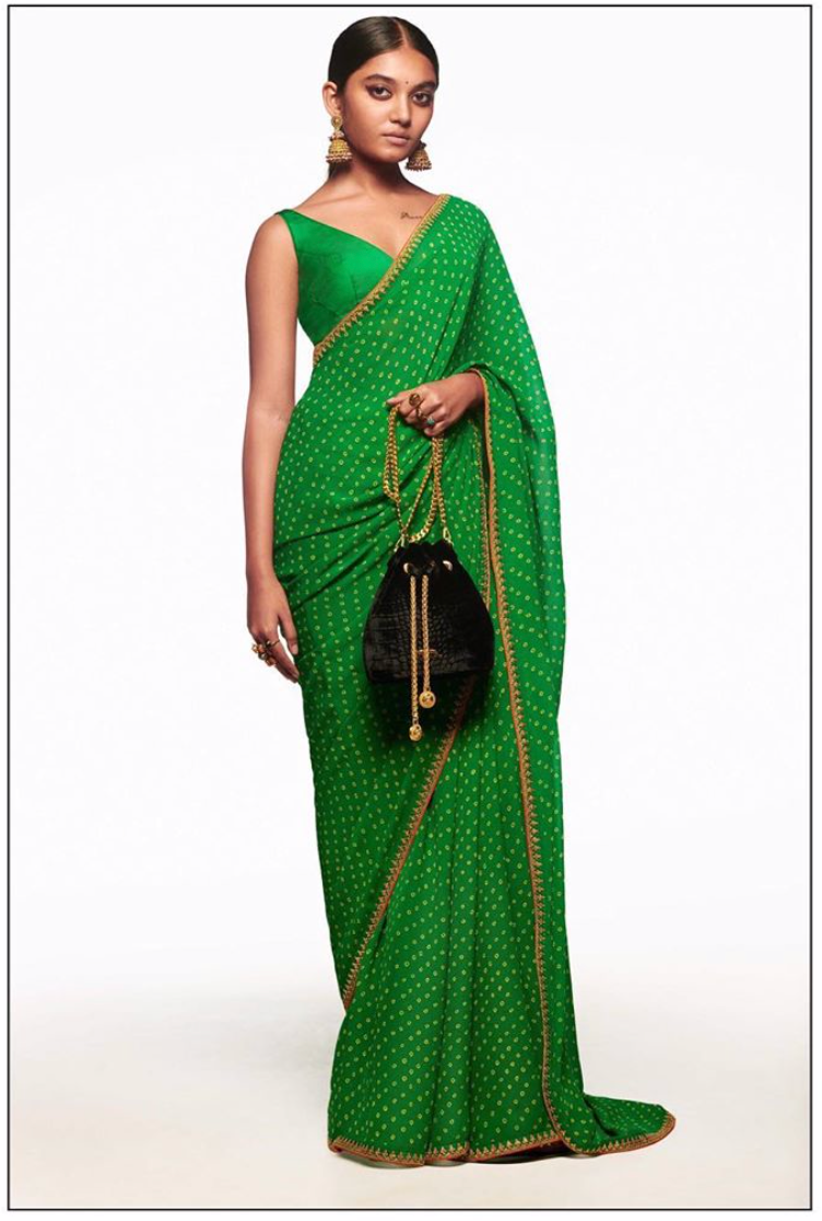 Sabyasachi Summer 2020 The Neo-Traditional Mehendi Sari - The Grand Trunk