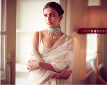 Load image into Gallery viewer, Sabyasachi Summer 2020 Summer Embroidered Organza Sari Destination Weddings - The Grand Trunk
